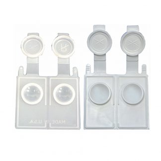 Contact Lens Cases - Small Well Flat Packs - Bag of 50