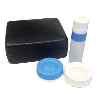 Contact Lens Case With Solution Bottle