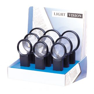 LED Lighted Magnifier Set -9-Piece