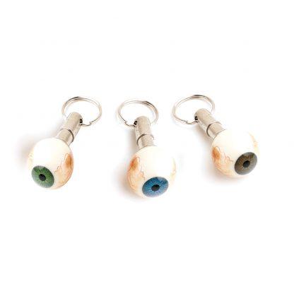 Eye Model Key Ring - Vesseled