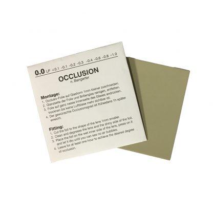 Bangerter Occlusion Foils