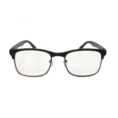 Hipster Black Reader with Blue Blocker & Anti-Reflective Coated Lenses