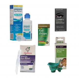 Eye Drops and Washes
